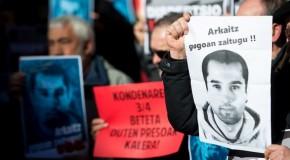 Arkaitz Bellon : conférence de presse d'Etxerat