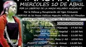 RODRIGO MELINAO, JEUNE MILITANT MAPUCHE ASSASSINÉ LE 6 AOÜT 2013