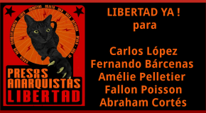 Dernières nouvelles des prisonnier-e-s de la Ville de Mexico