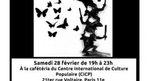 PARIS : Repas Solidaire pour les prisonnièr-e-s incarcéré-e-s au Mexique, samedi 28 février à partir de 19h au CICP