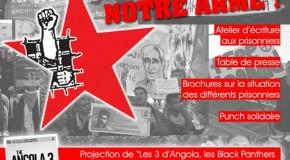 [Toulouse] 19 juin : Soirée de solidarité avec les prisonniers révolutionnaires