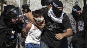 Plus de 1.000 mineurs palestiniens détenus par Israël jusqu'ici en 2016