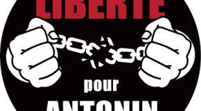 Message d'Antonin après sa libération