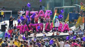 Mobilisation pour le retour d'Izar et de Sara Majarenas