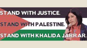 Demande grandissante de libération de Khalida Jarrar