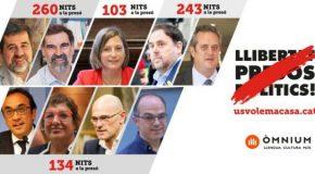Le transfert des prisonniers politiques dans les prisons catalanes est en cours