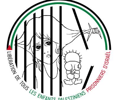 Campagne pour la libération immédiate de tous les enfants palestiniens prisonniers d'Israël – Paris