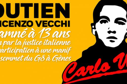 Liberté pour Vincenzo Vecchi !