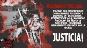 JUSTICE POUR ALEJANDRO TREUQUIL, WERKÉN MAPUCHE, ASSASSINÉ LE 4 JUIN 2020 PAR LA POLICE CHILIENNE RACISTE